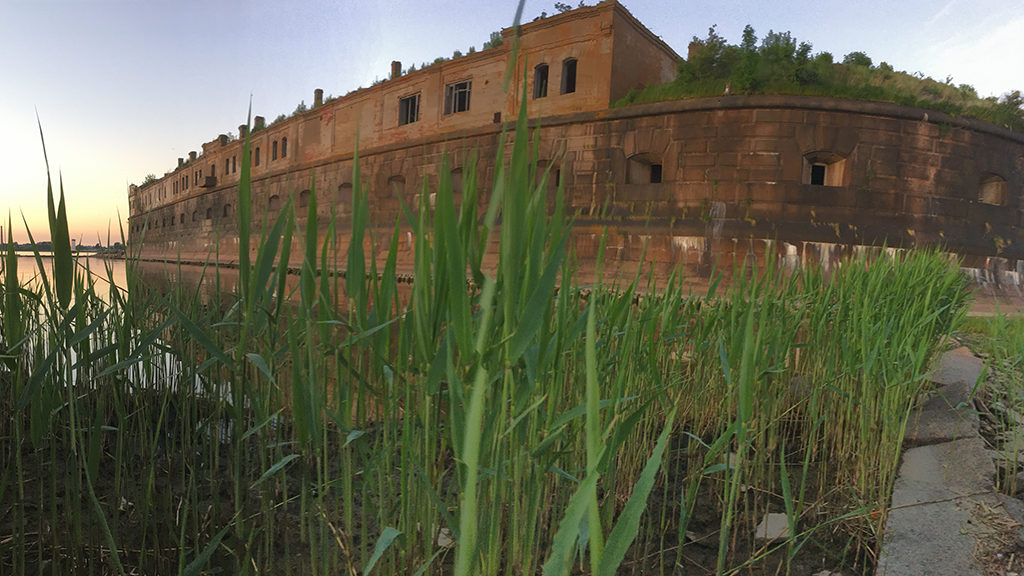 Форт Кроншлот Николаевская батарея