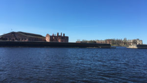 Кроншлот с морского канала
