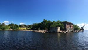 Форт 4 северный южный берег
