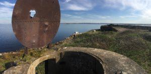 Форт Милютин прожекторная шахта