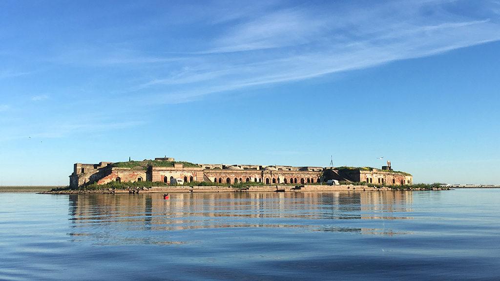 Граф Милютин горжа форта