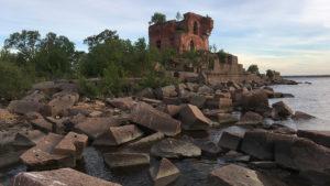 Разрушенный Форт Павел 1