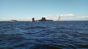 Финский залив боевые корабли