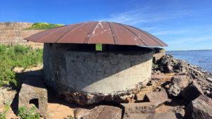 Дальномерный павильон, форт Милютин