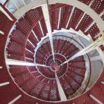 Лестница заднего николаевского створа